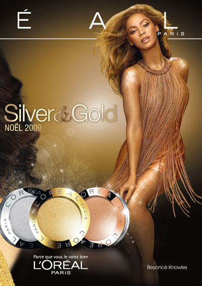 Beyonce L'Oreal Paris Holiday 2009 Ad