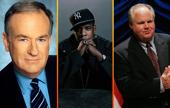 Bill O'Reilly // Jay-Z // Rush Limbaugh