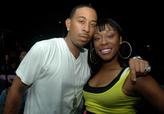 "Ludacris & Shawnna on the set of a new music video for ""Battle of the Sexes"" album"