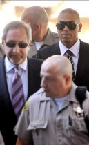 Chris Brown at Los Angeles County Superior Court (August 5th 2009)