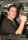 Channing Tatum outside ABC Studios in New York City (August 5th 2009)