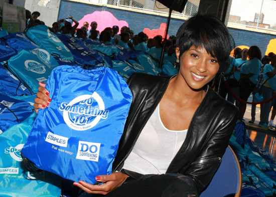 Ciara // 2nd Annual Staples/Do Something 101 National School Supply Drive