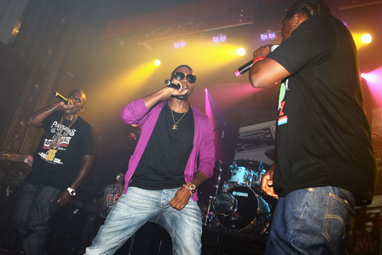 Kanye West and Clipse // Diesul U Music 2009 NYC Tour