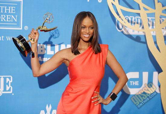 Tyra Banks // 2009 Daytime Emmy Awards