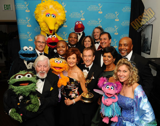 "The cast of ""Sesame Street"" // 2009 Daytime Emmy Awards"