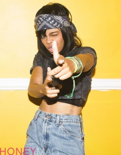 Fefe Dobson for Honey Magazine