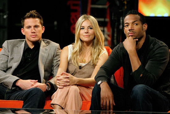 Channing Tatum, Sienna Miller and Marlon Wayans // Fuse's No. 1 Countdown (August 4th 2009)