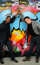 Channing Tatum and Marlon Wayans // Fuse's No. 1 Countdown (August 4th 2009)