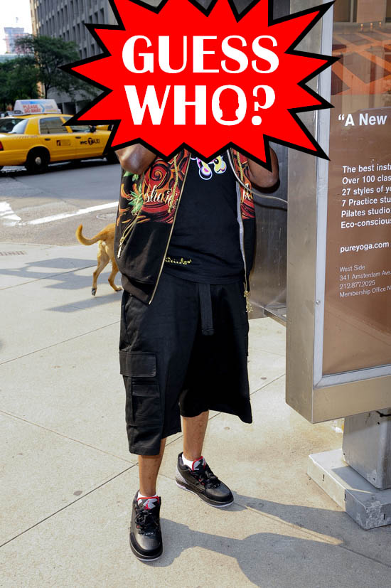 Guess Who?!: Rapper at a Pay-Phone in Midtown Manhattan