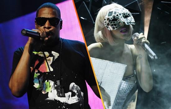 Jay-Z // Lady Gaga