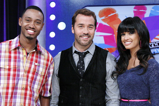 Terrence J, Jeremy Piven and Rocsi on BET's 106 & Park (August 7th 2009)