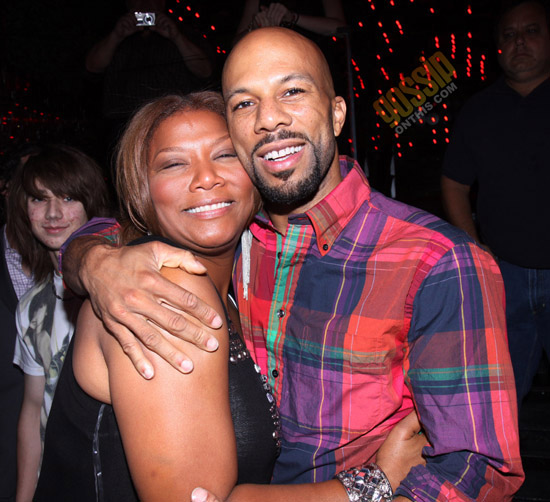 """Queen Latifah and Common // """"Just Wright"""" Film Wrap Party"""