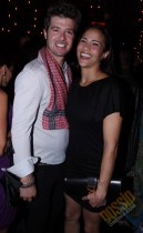 """Robin Thicke and Paula Patton // """"Just Wright"""" Film Wrap Party"""