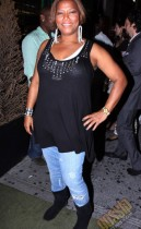 """Queen Latifah // """"Just Wright"""" Film Wrap Party"""