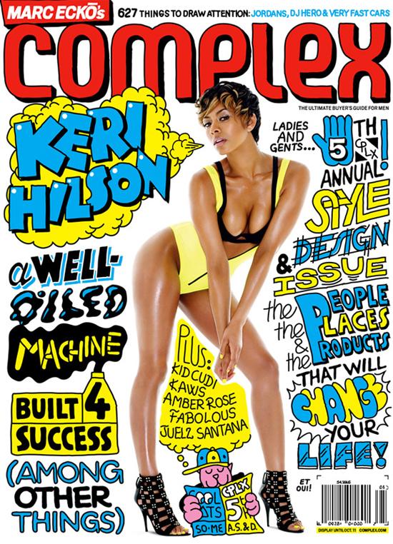 Keri Hilson // August/September 2009 Complex Magazine