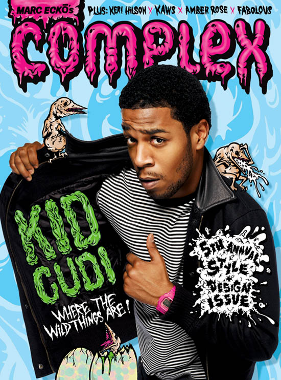 Kid Cudi covers August/September 2009 Complex Magazine