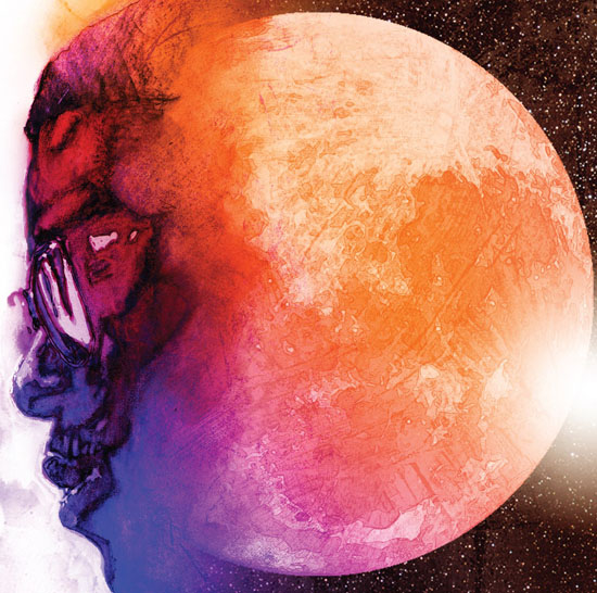 "Kid Cudi's ""Man on the Moon: The End of Day"" album cover"