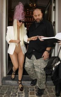 Lady Gaga outside her Denmark hotel (July 31st 2009)