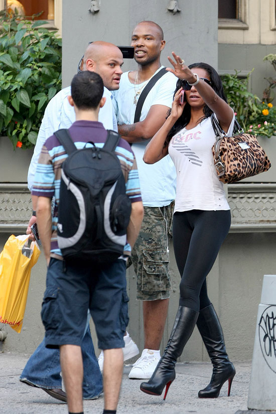 Melanie Brown And Her Husband Stephen Belafonte Shopping