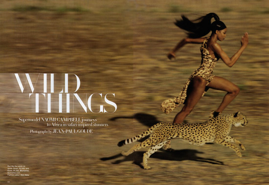 Naomi Campbell for September '09 Harpers Bazaar Magazine