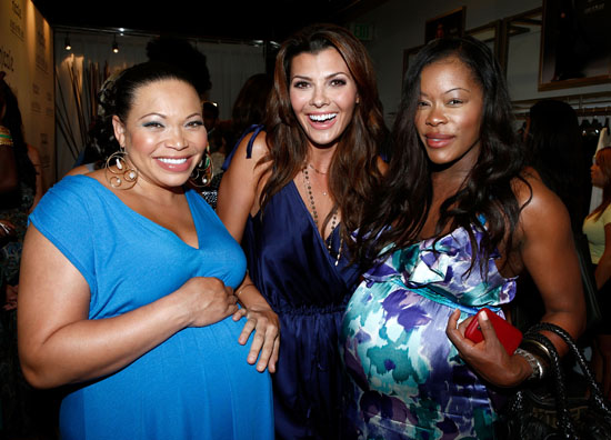 Tisha Campbell-Martin, Ali Landry and Golden Brooks // Nicole Richie Maternity Collection Launch Party