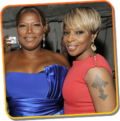 Queen Latifah & Mary J. Blige