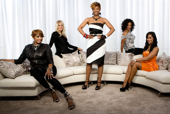 Real Housewives of Atlanta Season 2: NeNe Leakes, Kim Zolciak, Kim Burruss, Sheree Whitfield and Lisa Wu Hartwell