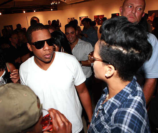 Jay-Z and Rihanna // Rocawear 10th Anniversary Party
