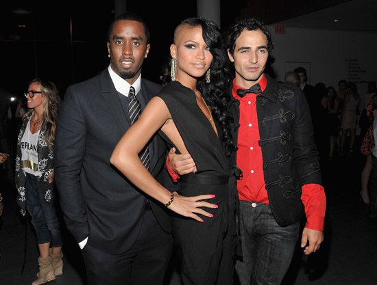 "Diddy, Cassie and Zac Posen // Special Screening of ""The September Issue"" in NYC"