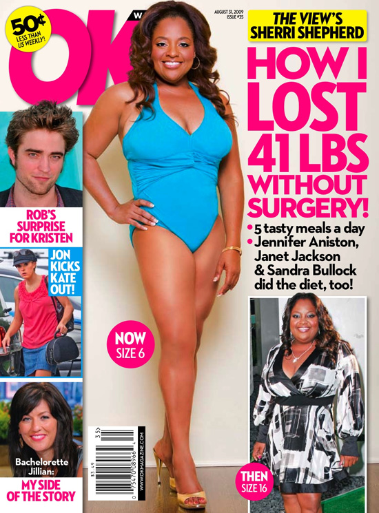 Sherri Shepherd's OK! Magazine Weight Loss Feature