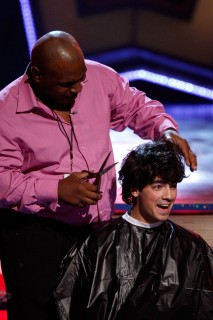 Mike Tyson and Joe Jonas // 2009 Teen Choice Awards (Show)
