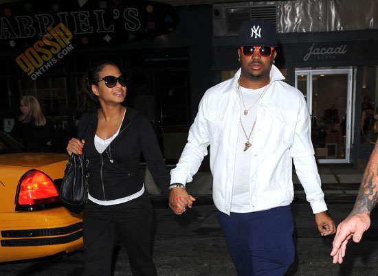 The Dream & Christina Milian out and about in New York City (August 28th 2009)