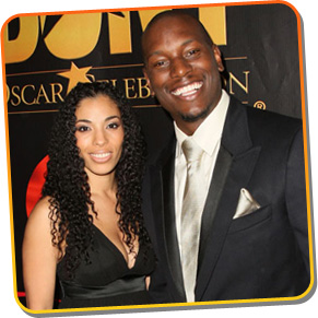 Tyrese and now ex-wife Norma Gibson