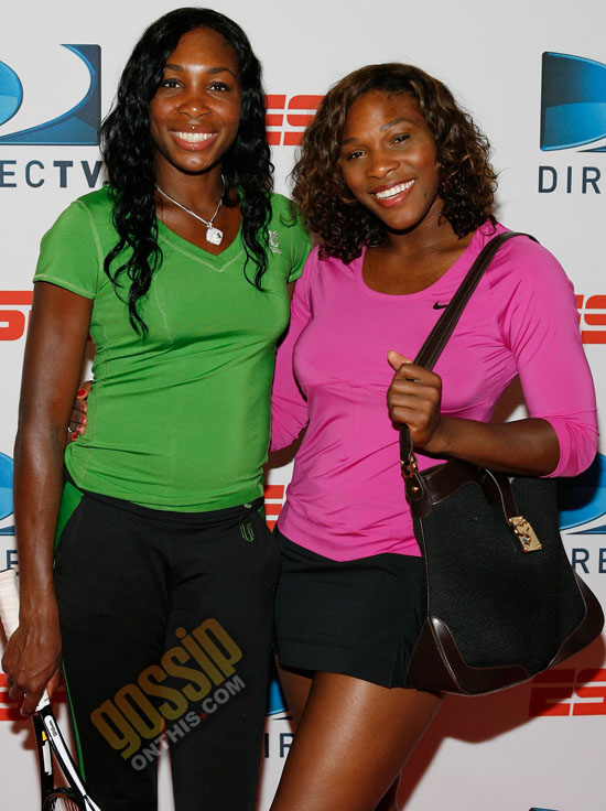 Venus & Serena Williams // DIRECTV ESPN US Open Experience