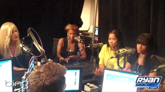 NeNe and Kim go at it on Ryan Seacrest (click to watch!)