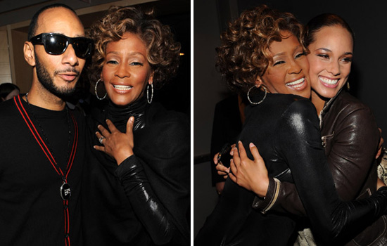 Swizz Beatz & Whitney Houston // Whitney Houston & Alicia Keys