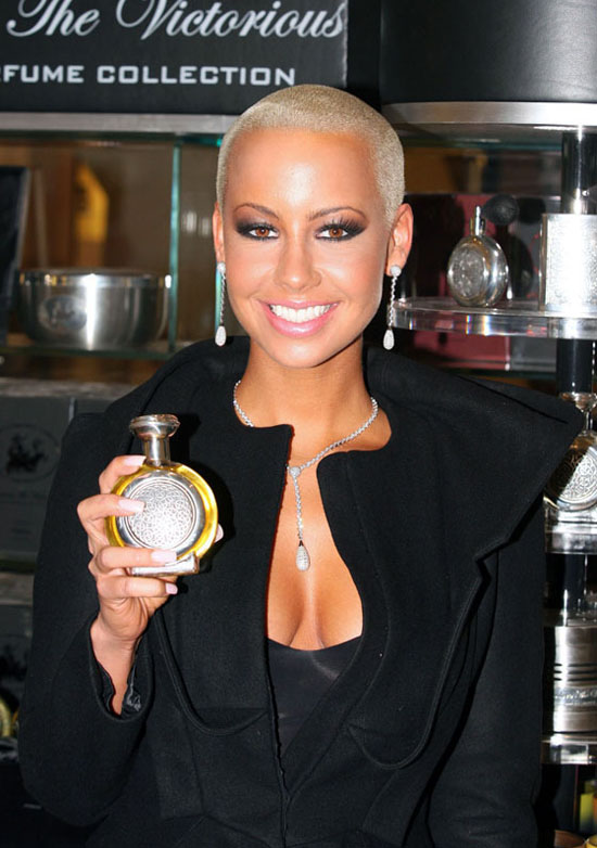 "Amber Rose at launch event for new ""Boadicea The Victorious"" fragrance by Michael Boadi in London (September 18th 2009)"