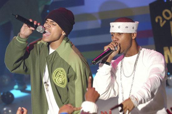 Chris Brown and Juelz Santana