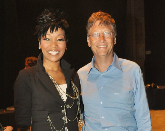 """Monica and Bill Gates // """"Get Schooled"""" Program Launch in Los Angeles"""