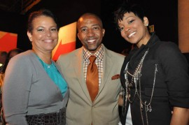 """Debra Lee, Kevin Liles and Monica // """"Get Schooled"""" Program Launch in Los Angeles"""