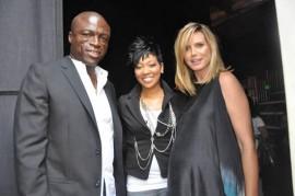 "Seal, Monica and Heidi Klum // ""Get Schooled"" Program Launch in Los Angeles"