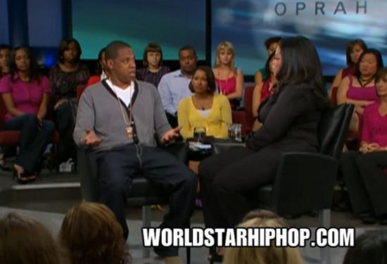 Jay-Z on Oprah (click to watch!)