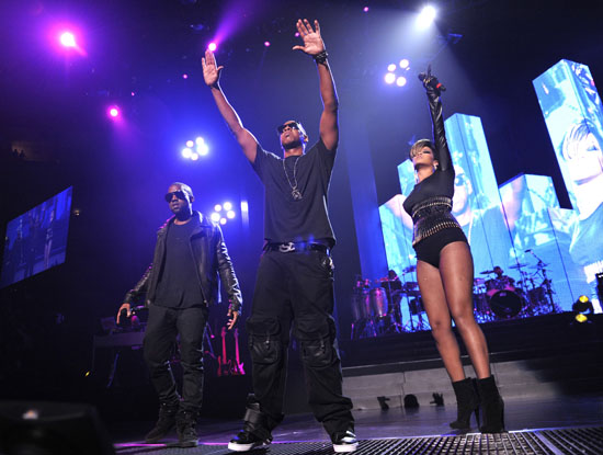 "Kanye West, Jay-Z and Rihanna // Jay-Z's ""Answer the Call"" 9/11 Benefit Concert"