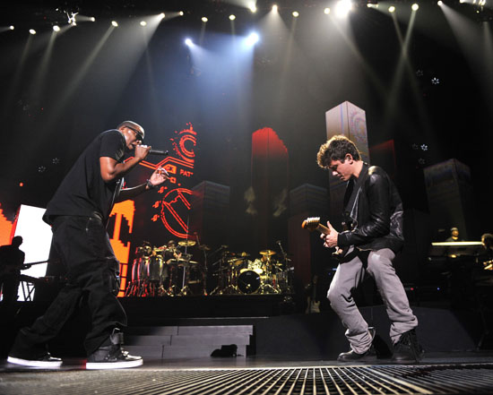 "Jay-Z and John Mayer // Jay-Z's ""Answer the Call"" 9/11 Benefit Concert"