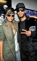 "Rihanna and Swizz Beatz // Jay-Z's ""Answer the Call"" 9/11 Benefit Concert (backstage)"