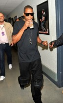 "Jay-Z // Jay-Z's ""Answer the Call"" 9/11 Benefit Concert (backstage)"