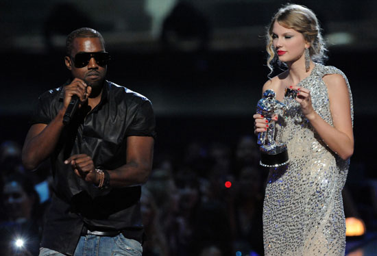 Kanye West steals Taylor Swift's moment at the 2009 MTV Video Music Awards