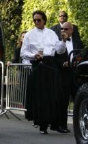 Bruce Jenner outside Khloe Kardashian & Lamar Odom's wedding in Los Angeles (September 27th 2009)