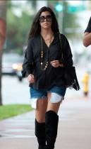 Kourtney Kardashian out & about in Miami Beach (September 3rd 2009)