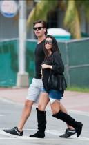 Kourtney Kardashian and Scott Disick out & about in Miami Beach (September 3rd 2009)